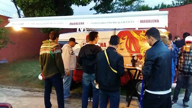 Kombi Choppeira Cerveja Madalena evento Gorge Motz