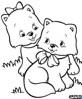 رسومات تعليمية للاطفال للتلوين