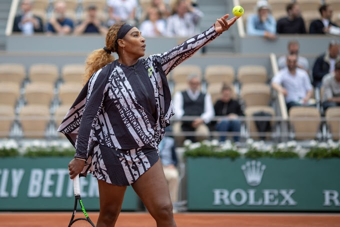 Serena Williams & Virgil Abloh Send a Message with Tennis Star's French Open Outfit