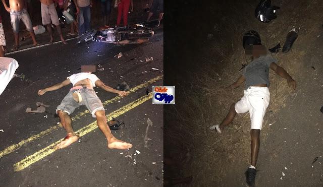 Grave acidente deixa duas pessoas mortas e três feridos na estrada que liga Urbano Santos a Belágua