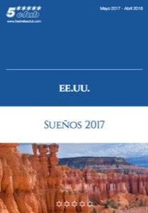 Catálogo con viajes a Estados Unidos de América 2018