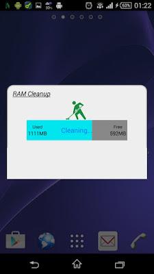تطبيق RAM Cleanup للأندرويد, افضل تطبيق لتنظيف الاندرويد, تطبيق RAM Cleanup مدفوع للأندرويد, تفريغ الذاكرة العشوائية للاندرويد, مسح الملفات الزائدة للاندرويد