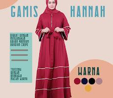 Gamis Hannah DG-01  Lady Muslimah <p>USD 25</p> <code>DG-01</code>