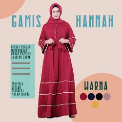 Gamis Hannah DG-01 dress fashion wanita  <p>Rp 150.000</p> <code>DG-01</code>