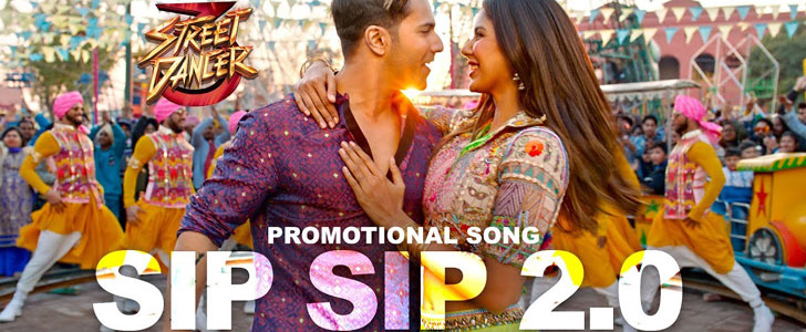 Sip Sip 2.0 Song Lyrics from Street Dancer 3D