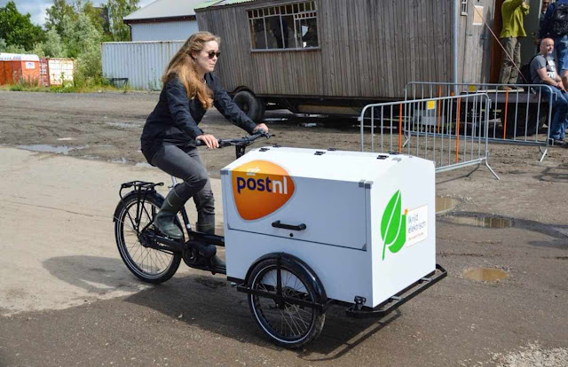 Cargo bikes are a very strong symbol for the traffic turnaround
