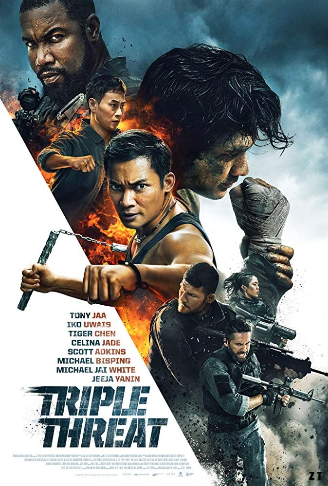 Triple Threat [HDRip] [Streaming] [Telecharger]