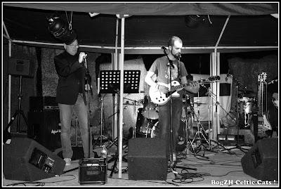 JJ harmonica / chant, Fabien guitares / chant
