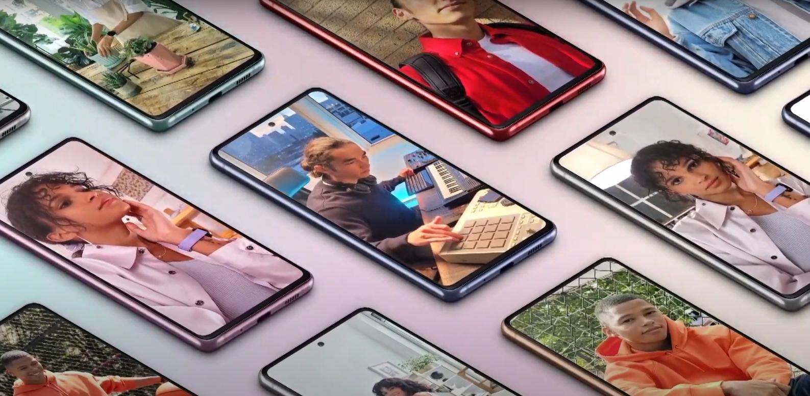 Video ufficiali nuovi Samsung Galaxy S20 FE