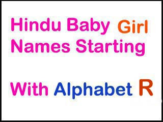Modern Hindu Baby Girl Names Starting With R In Sanskrit