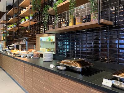 Breakfast buffet, Hilton Garden Inn Kuala Lumpur South