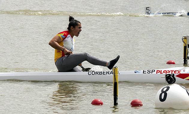 María Corbera Piragüismo Aranjuez