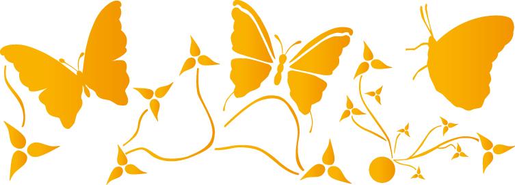 Farfalle Stencil Da Stampare Images