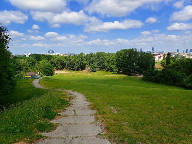 Park Szczęśliwicki w Warszawie