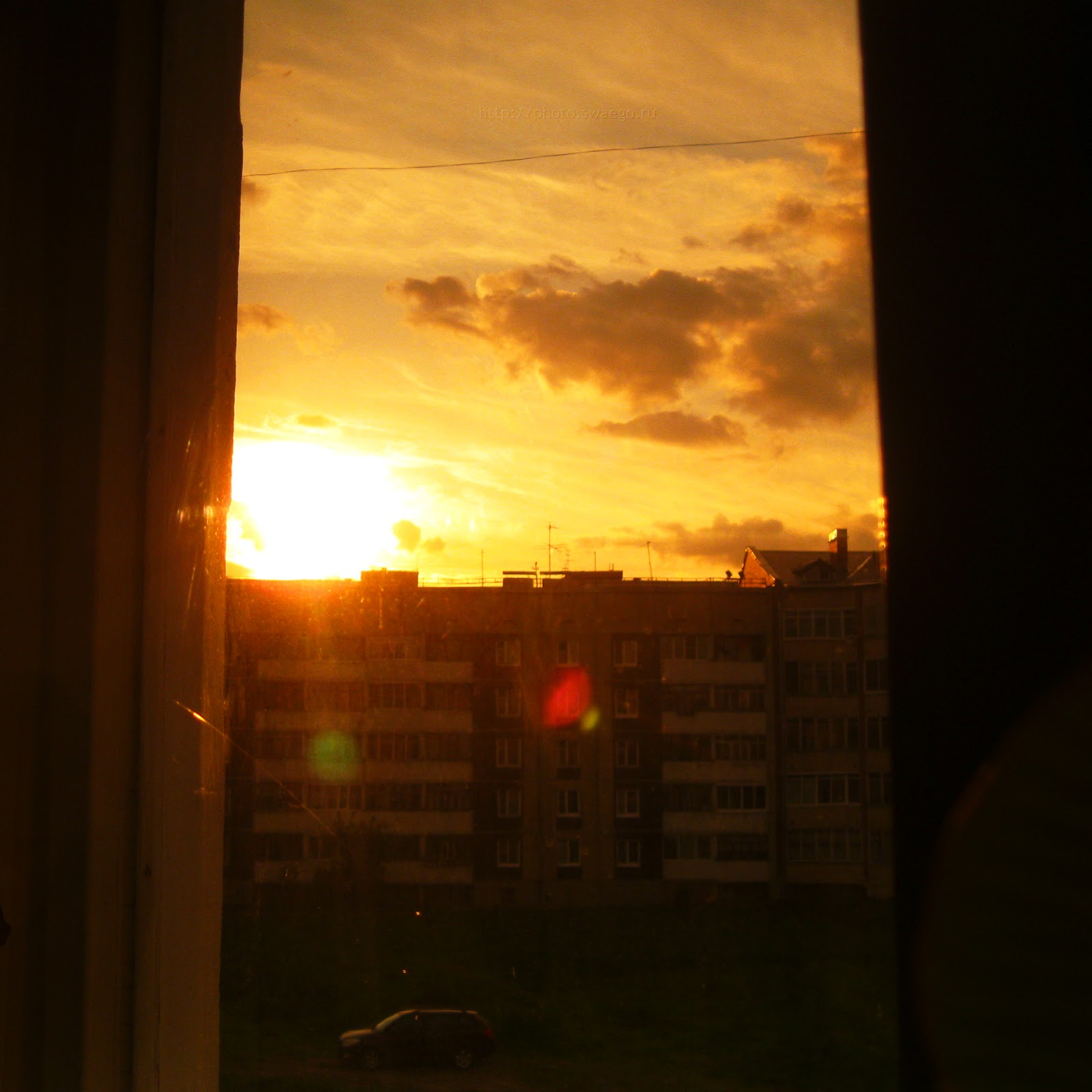 Закат солнца вручную