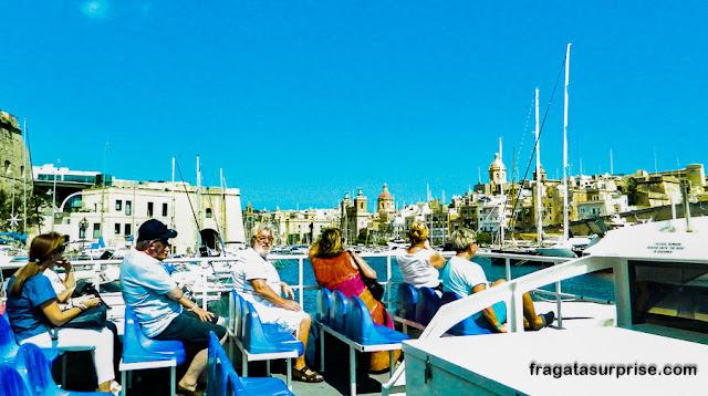Ferry entre Valeta e Cospicua, Malta