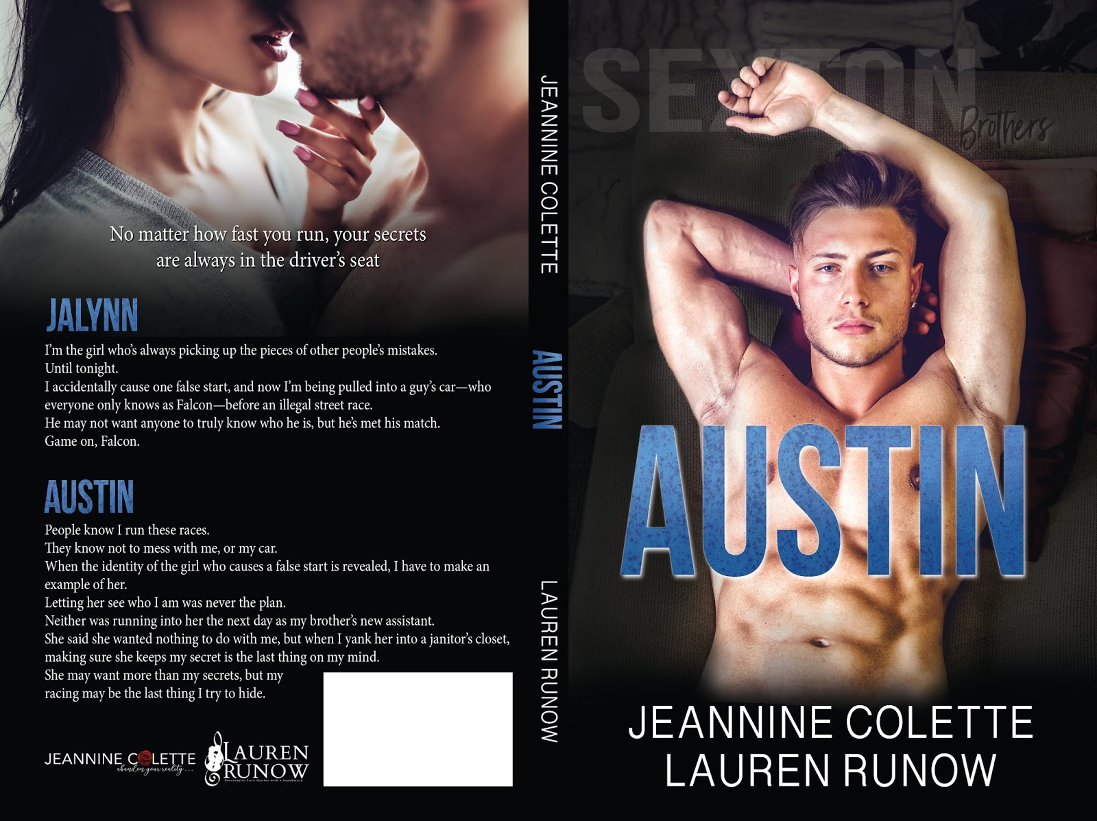 Category Austin A Sexton Brothers Novel By Lauren Runow And Jeannine Colette Cover Reveal Four Chicks Flipping Pages