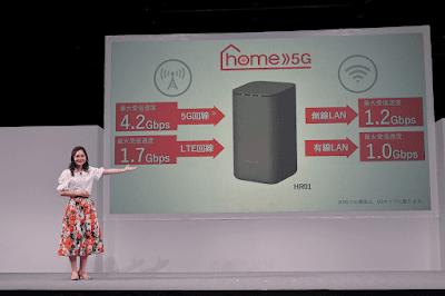 home 5G HR01について