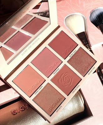 Cor De Rosa face Blush Palette