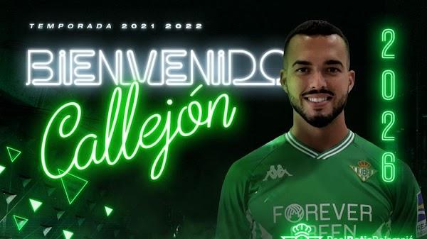 Oficial: Betis Deportivo, firma Fran Callejón