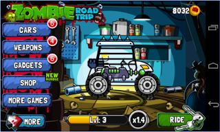 Zombie Road Trip Mod Apk v3.20 Unlimited Money Terbaru