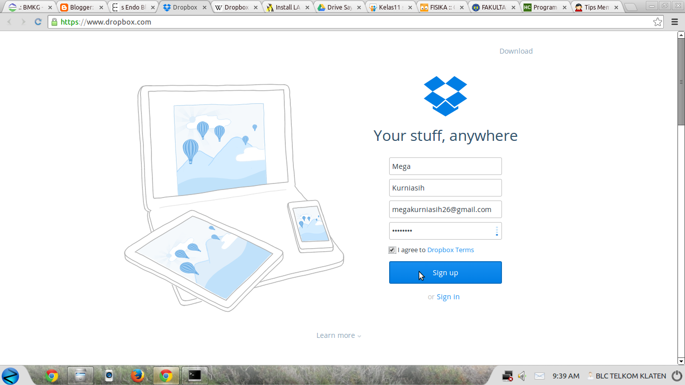 Dropbox · Documentation