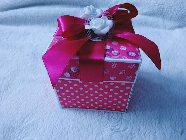 zaproszenie na ślub, eksplodujące pudełko
