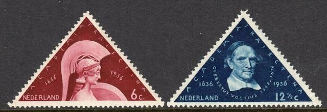 Netherlands 1936 300th Ann. University at Utrecht