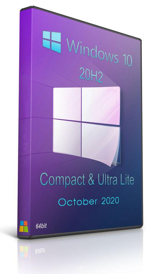 ويندوز 10 الترا لايت 2020 – Windows 10 20H2 (19042.546) Compact & Ultra-Lite