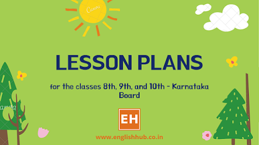 Class 8th, 9th, and 10th Second Language English Lesson Plans