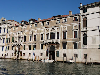 Among Lord Byron's homes in Venice was the Palazzo Mocenigo detto 'il Nero' on the Grand Canal