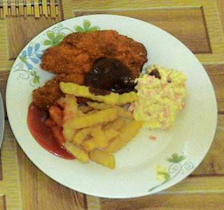 Resepi Chicken Chop