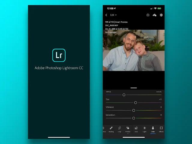 Aplikasi Edit Foto Instagram - Lightroom
