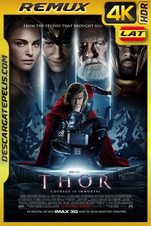 Thor (2011) BD4K Remux 2160p Latino – Ingles