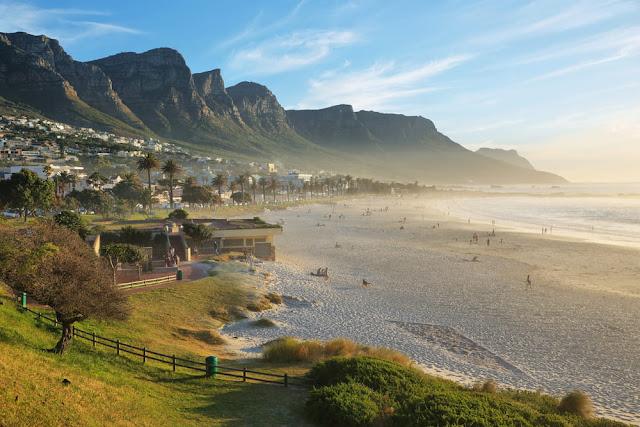 Los doce apóstoles en la Península del Cabo, Sudáfrica
