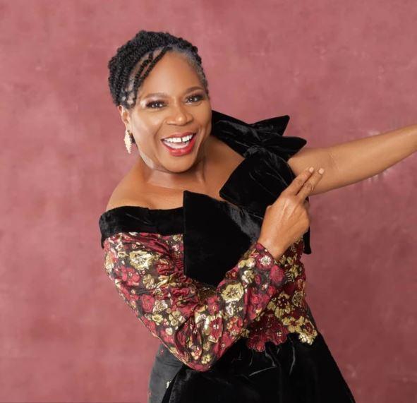 music Icon, Onyeka Onwenu exhibits She got Married To A Yoruba Muslim In 1984