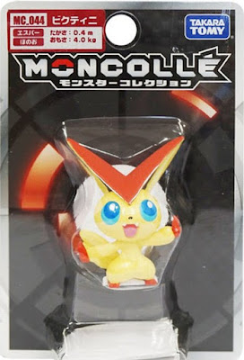 Victini figure Takara Tomy Monster Collection MONCOLLE MC series