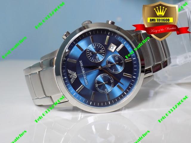 Những mẫu đồng hồ đeo tay phong cách cực chất cho chàng năng động