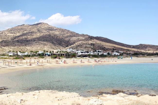 """Manganari beach, Ios, Greece. Best beaches in Ios. Ios beaches. """"The big blue"""" movie (1988.) location."""