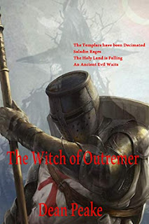 The Witch of Outremer - Historical Fiction by Dean Peake book promotion