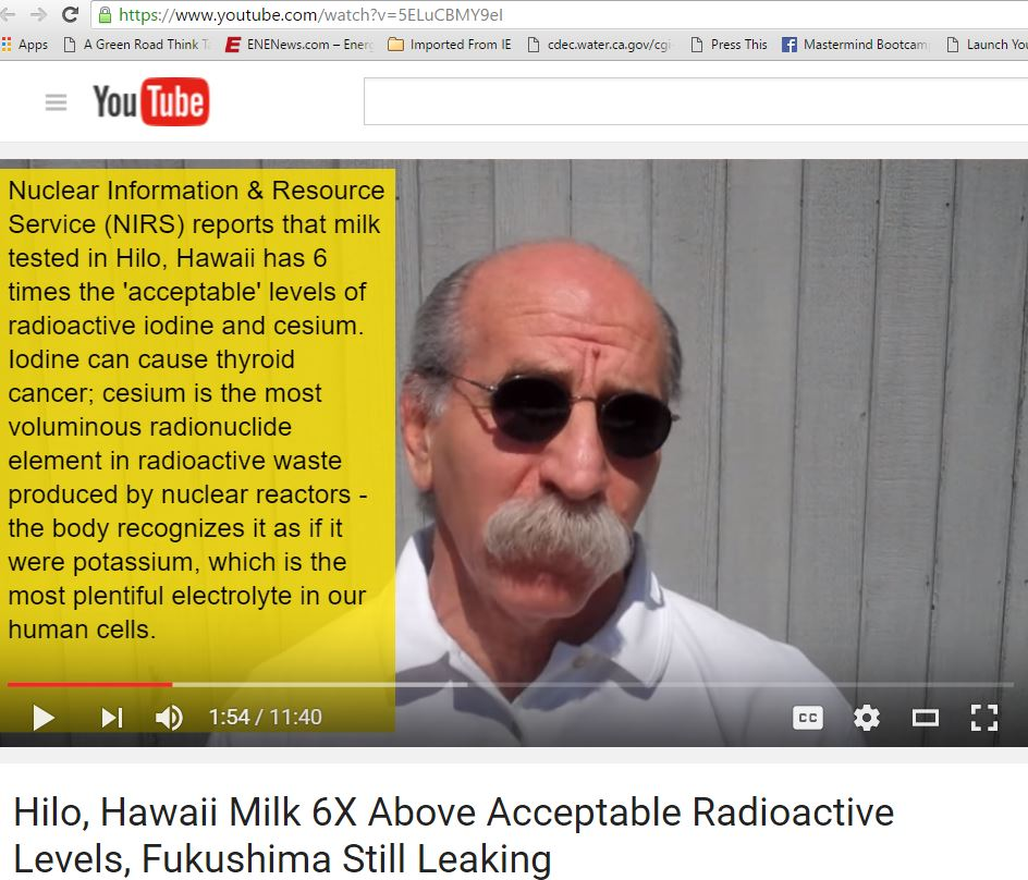 Dr  Conrad Miller MD - After Fukushima: Heavy Metal