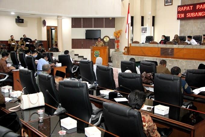 Rapat Paripurna DPRD se - Kabupaten Subang
