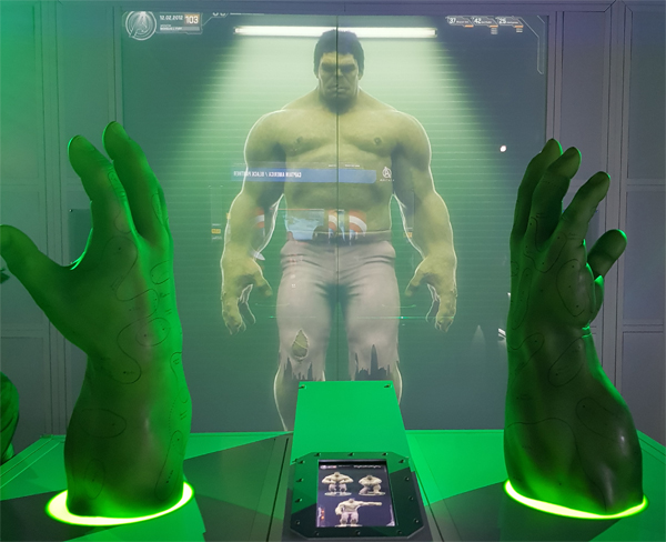 The workings behind Hulk's hands at Agents S.T.A.T.I.O.N.