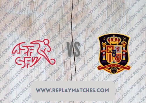 Switzerland vs Spain -Highlights 02 July 2021