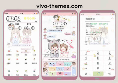 Child Couple Theme itz for Vivo Android