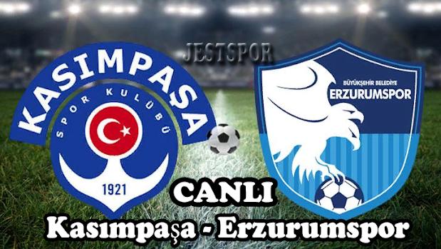 Kasımpaşa - Erzurumspor Jestspor izle
