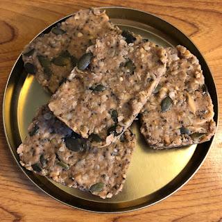 Barres de céréales et graines au beurre de cacahuètes sans cuisson