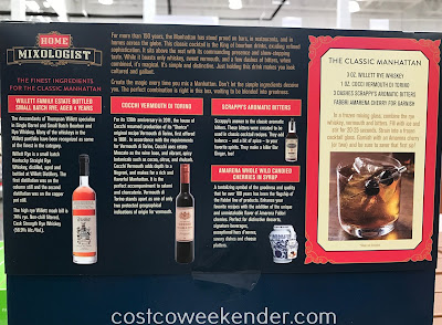 Costco 1291539 - Home Mixologist Classic Manhattan Cocktail Kit: cheaper and more convenient than going to the bar