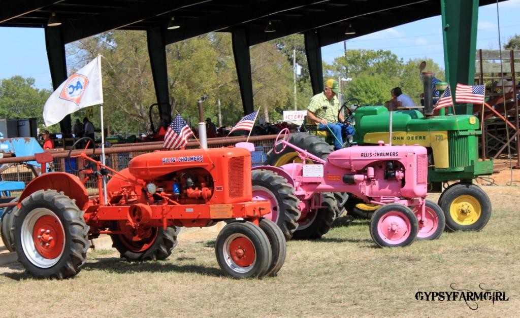 GypsyFarmGirl: Tractor Shows & Gypsy Markets