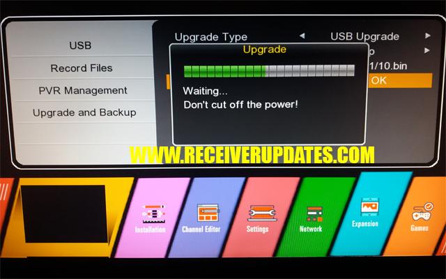 Receiver Updates